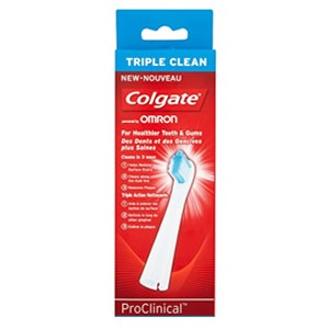 Colgate Omron ProClinical Refill Heads-Triple Clean