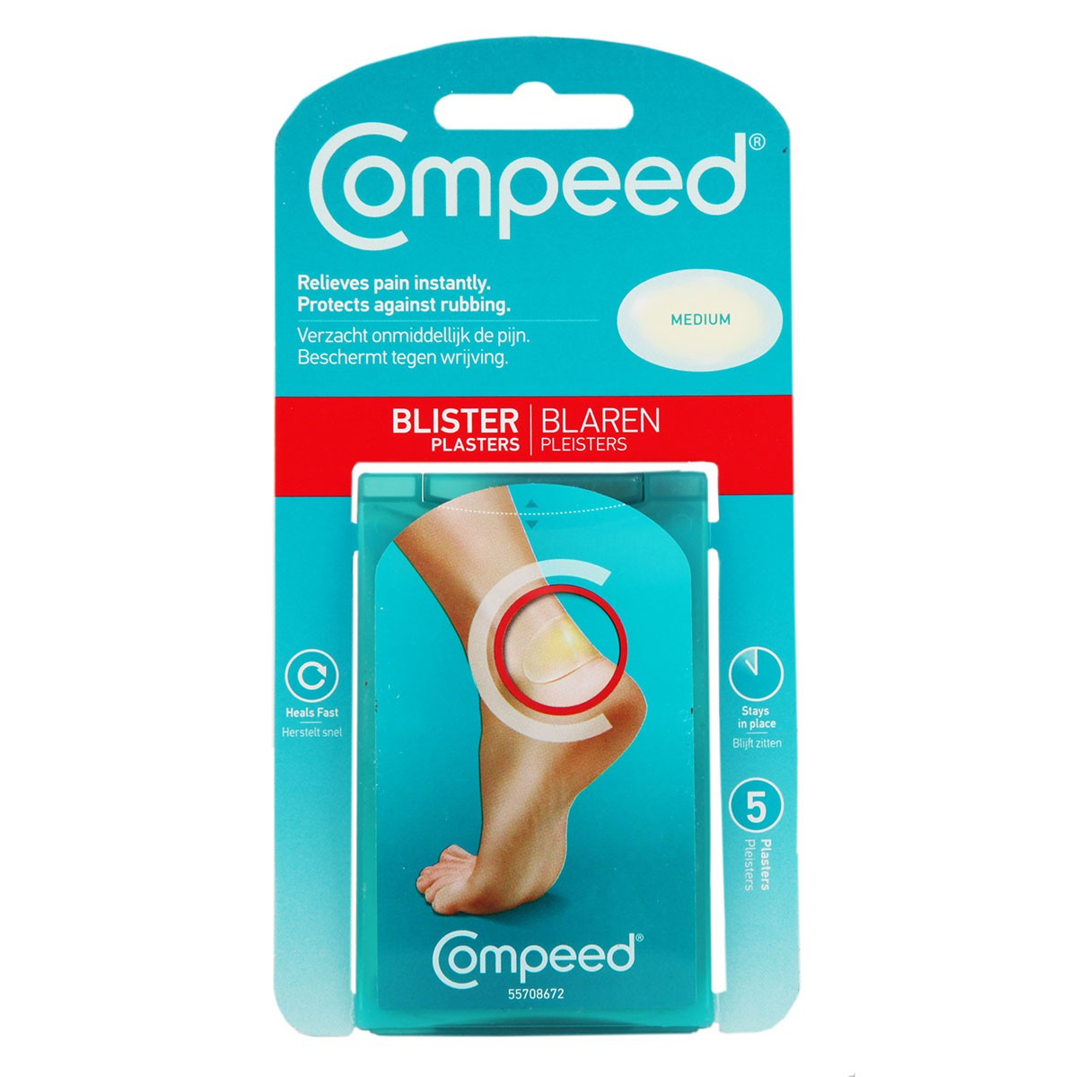 Compeed Blister Plasters – Medium
