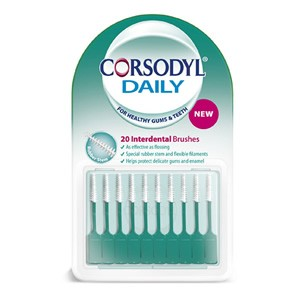 Corsodyl Daily Interdental Brushes