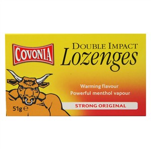 Covonia Double Impact Lozenges Strong Original
