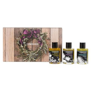 Image of Cowshed Reviving Bath & Body Oil Set 3x30ml