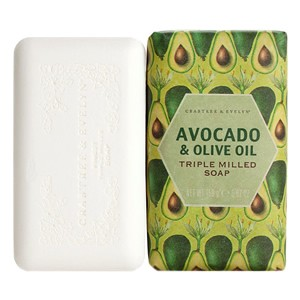 Crabtree & Evelyn Avocado, Olive & Basil Oil Milled Soap