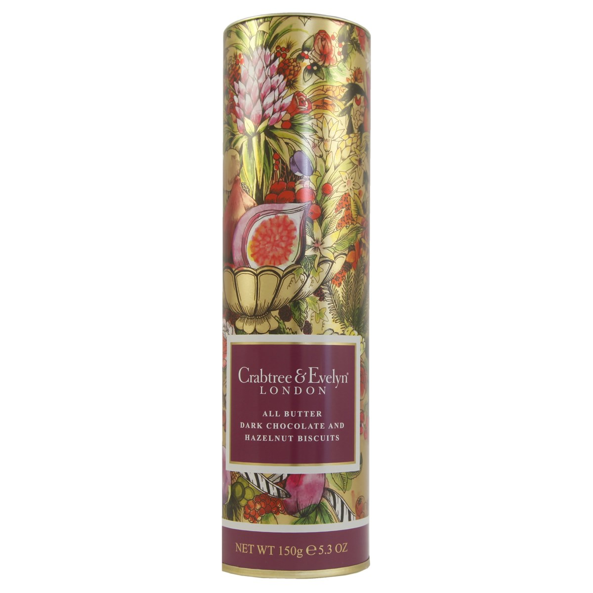 Crabtree & Evelyn Fine Foods All Butter Dark Chocolate & Hazelnut Biscuits