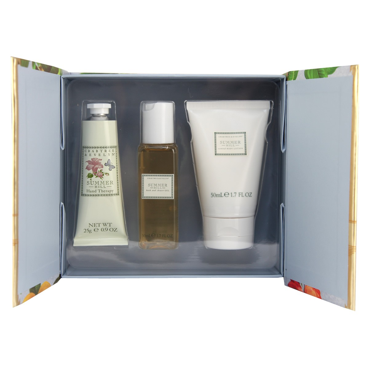 Crabtree & Evelyn Summer Hill Little Luxury Gift Set