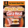 Cura-Heat Direct to Skin Back Pain Max Size