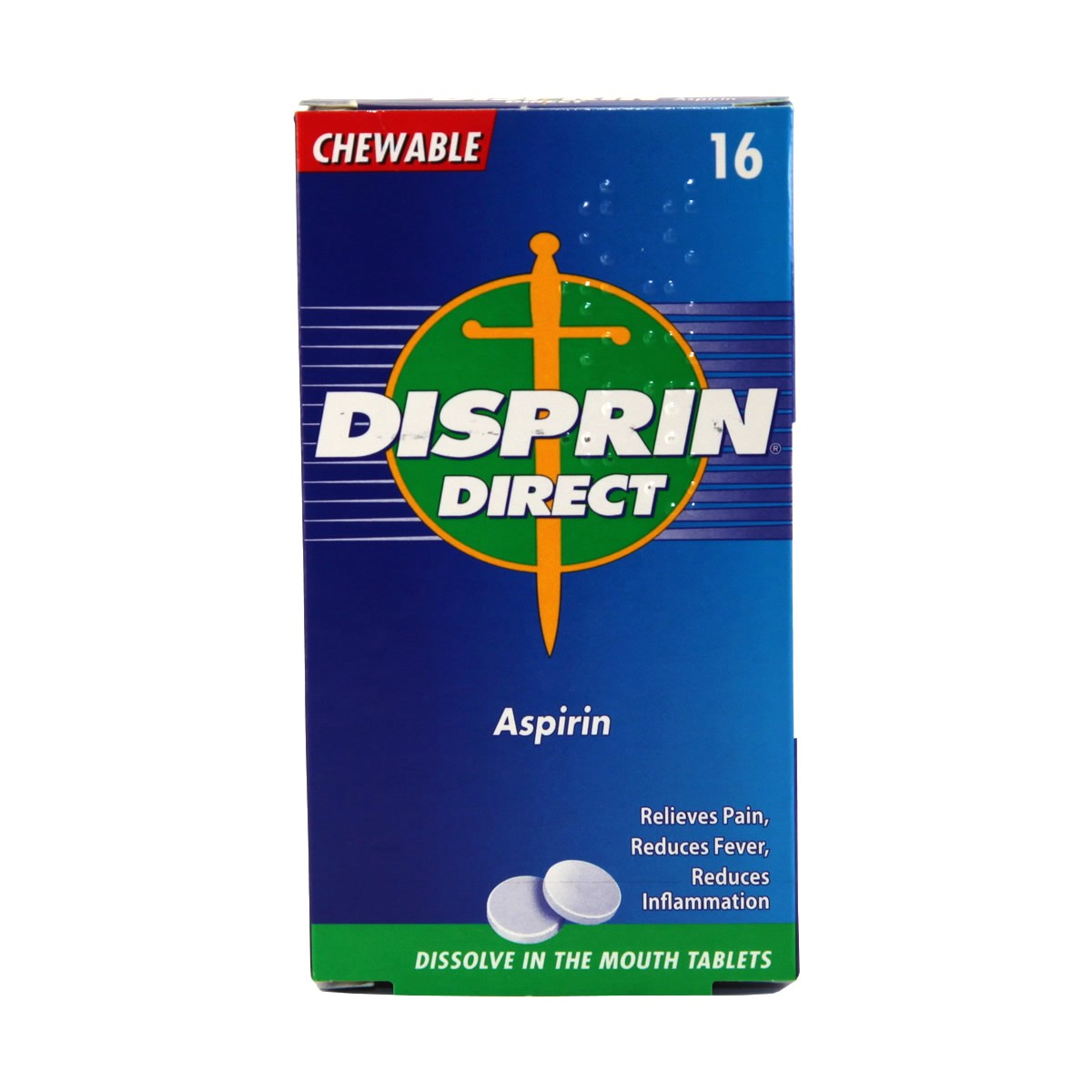 Disprin Direct Chewable Tablets