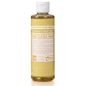 Dr.Bronner's Magic Soaps-18-in-1 Hemp - Citrus Orange