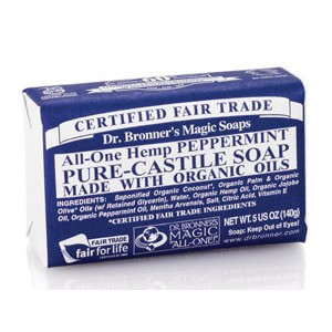 Dr. Bronner's Organic Pure Castile Peppermint Soap