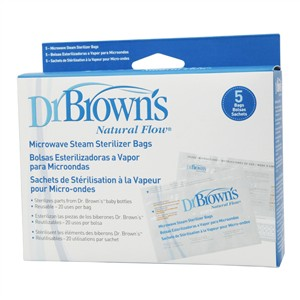 Dr Brown`s Microwave Steam Sterilizer Bags