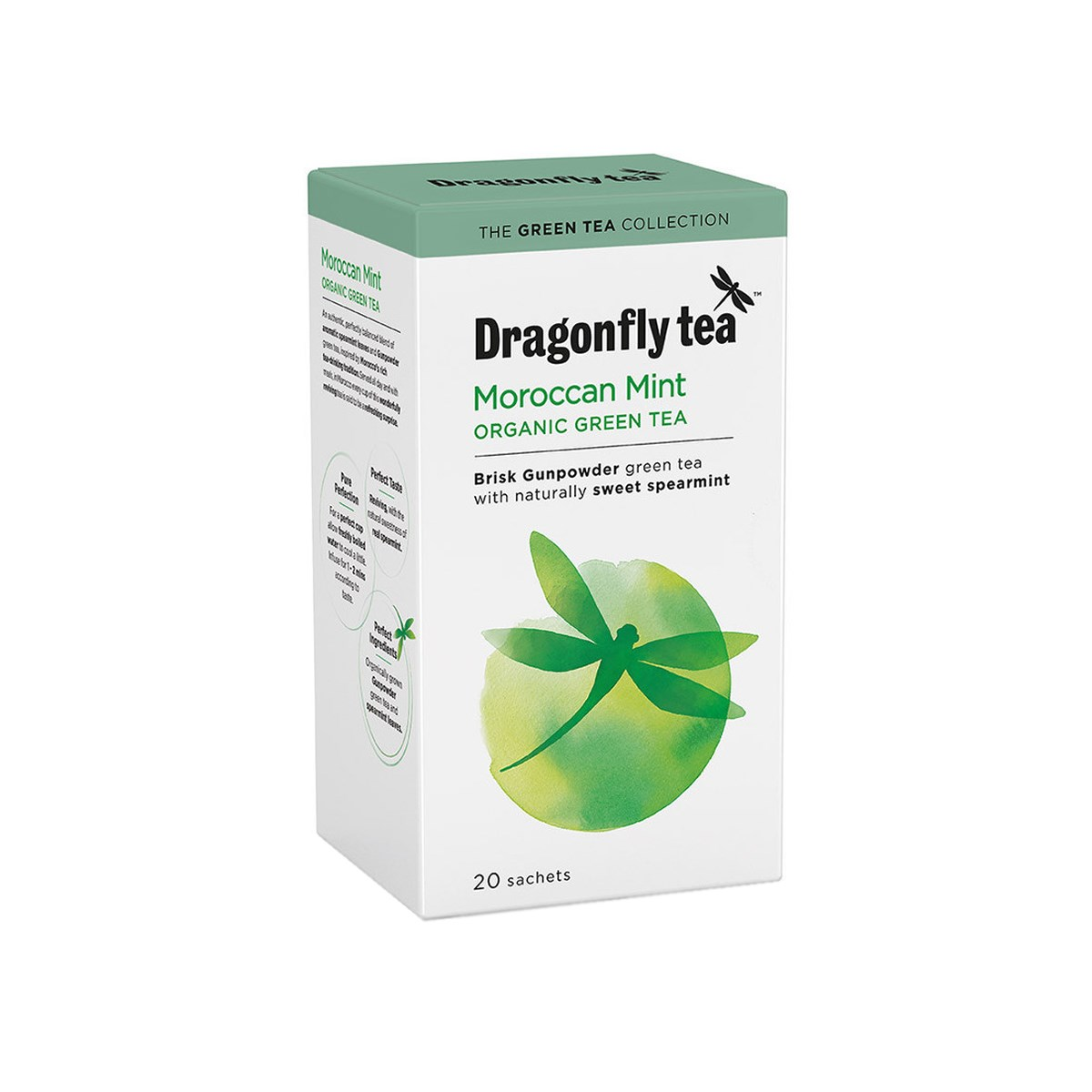 Dragonfly Organic Swirling White Mist Tea
