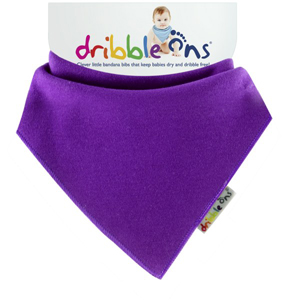 Dribble Ons Dribble Ons Brights - Purple