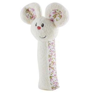 Early Learning Centre Blossom Farm Nibbles The Mouse Squeaker Rattle