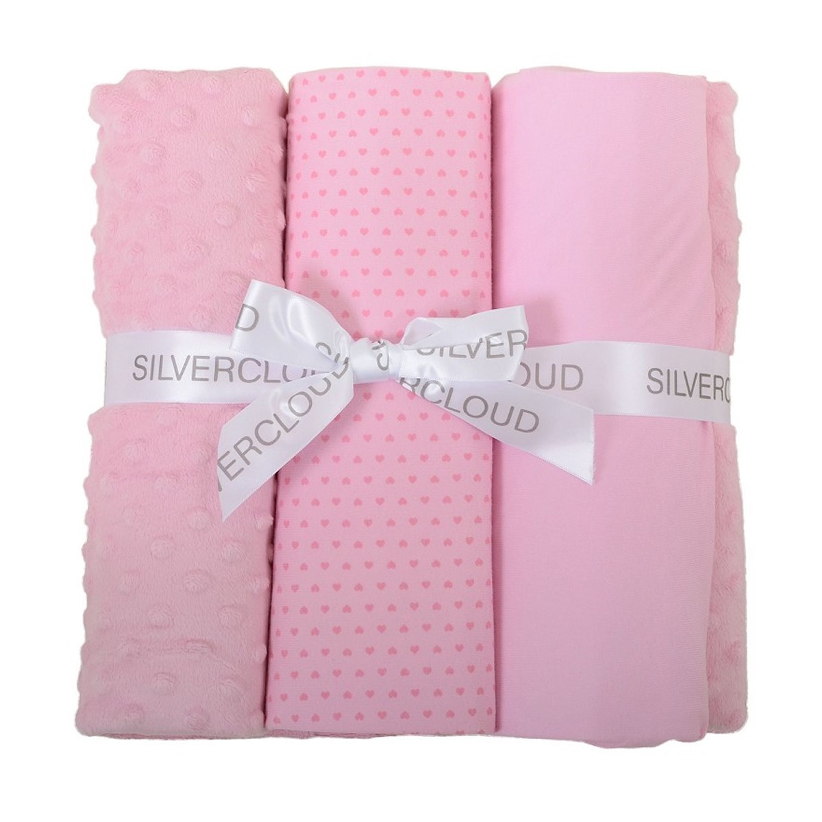 East Coast Cot Bed Bedding Bale Pink