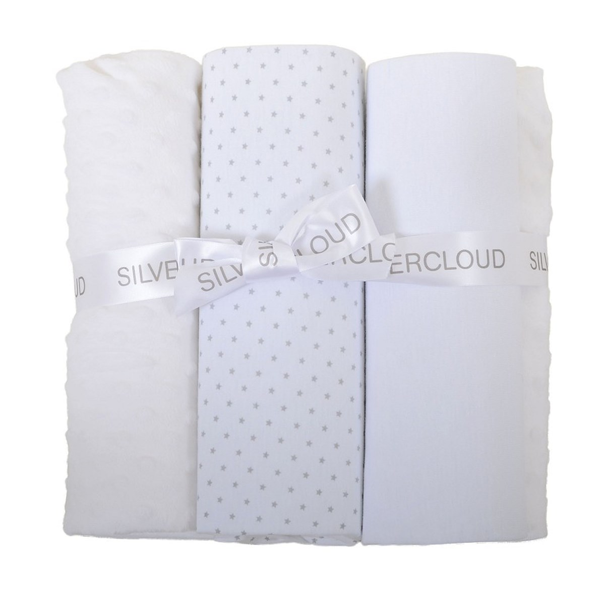 East Coast Cot Bed Bedding Bale White
