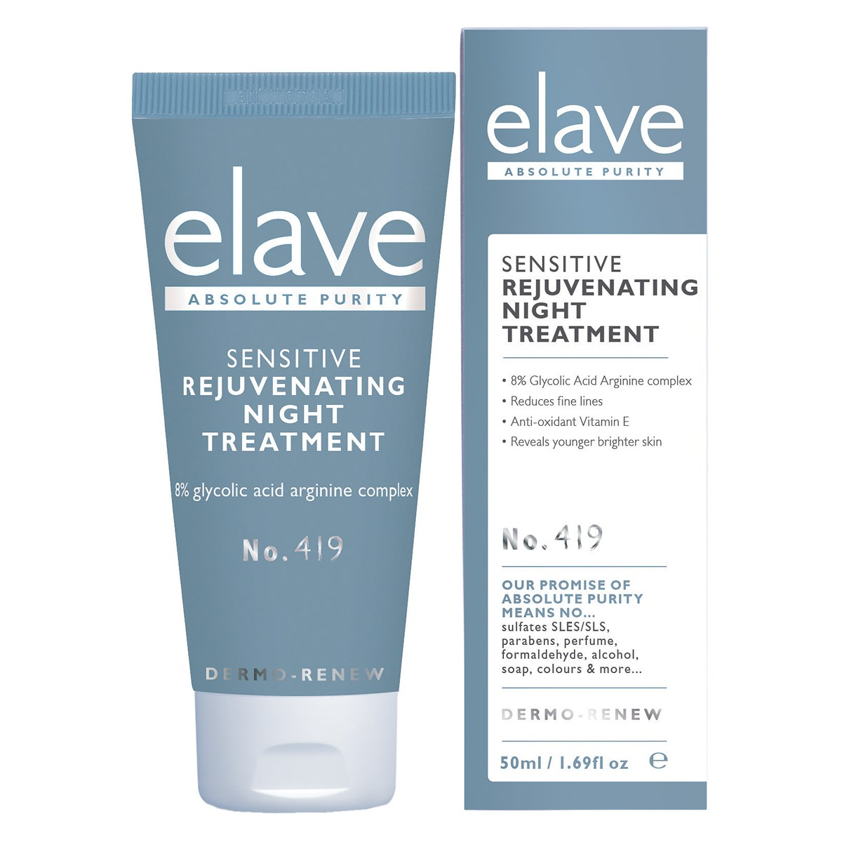 Elave Sensitive Rejuvenating Night Treatment