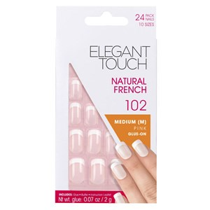 Elegant Touch Natural French 102 - Medium Pink
