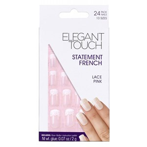 Elegant Touch Statement French Lace Pink