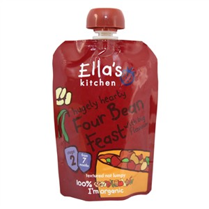 Ella's Kitchen Four Bean Feast with Big Flavour -  Stage 2