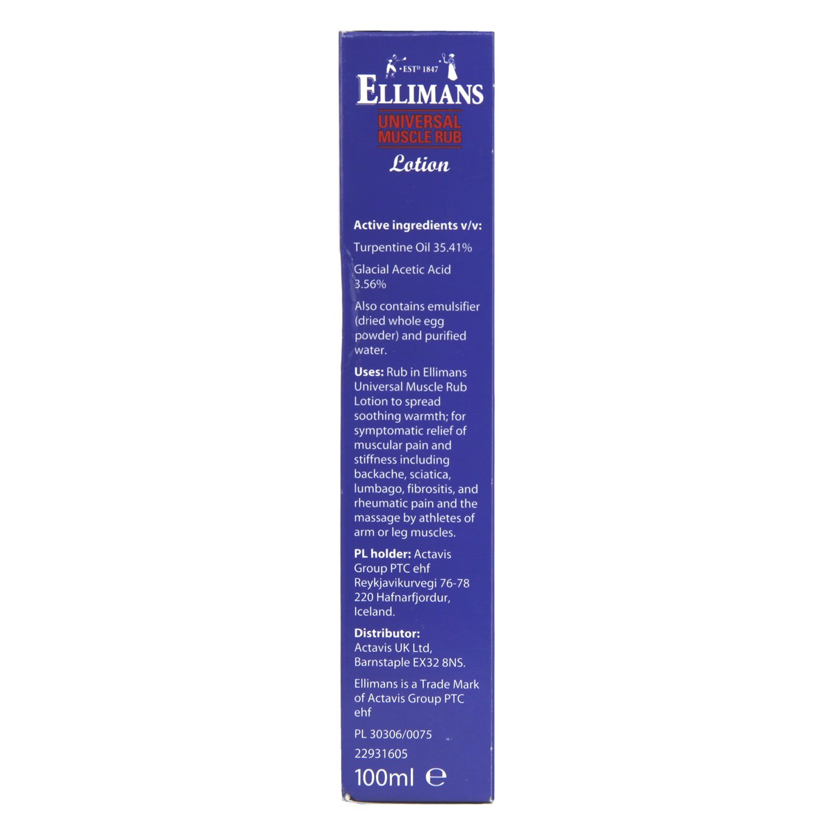 Ellimans Universal Muscle Rub Lotion