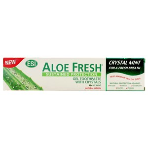 ESI Aloe Fresh Crystal Mint Gel Toothpaste