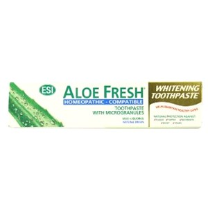 ESI Aloe Fresh Homeopathic Compatible Whitening Toothpaste