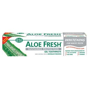 ESI Aloe Fresh Sustained Protection Whitening Gel Toothpaste