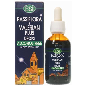 ESI Passiflora & Valerian Plus Drops Alcohol-Free