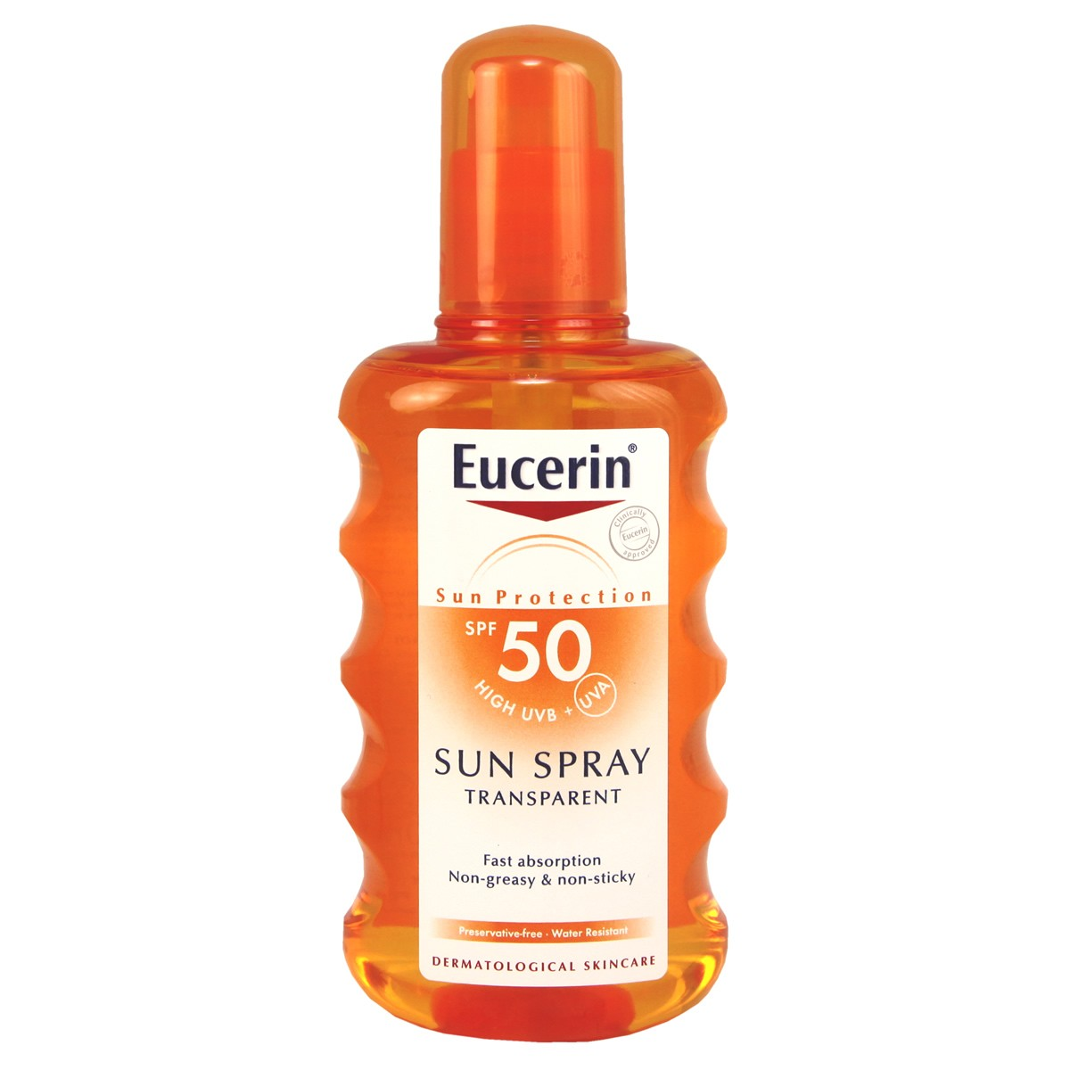Eucerin Sun Spray Transparent SPF 50