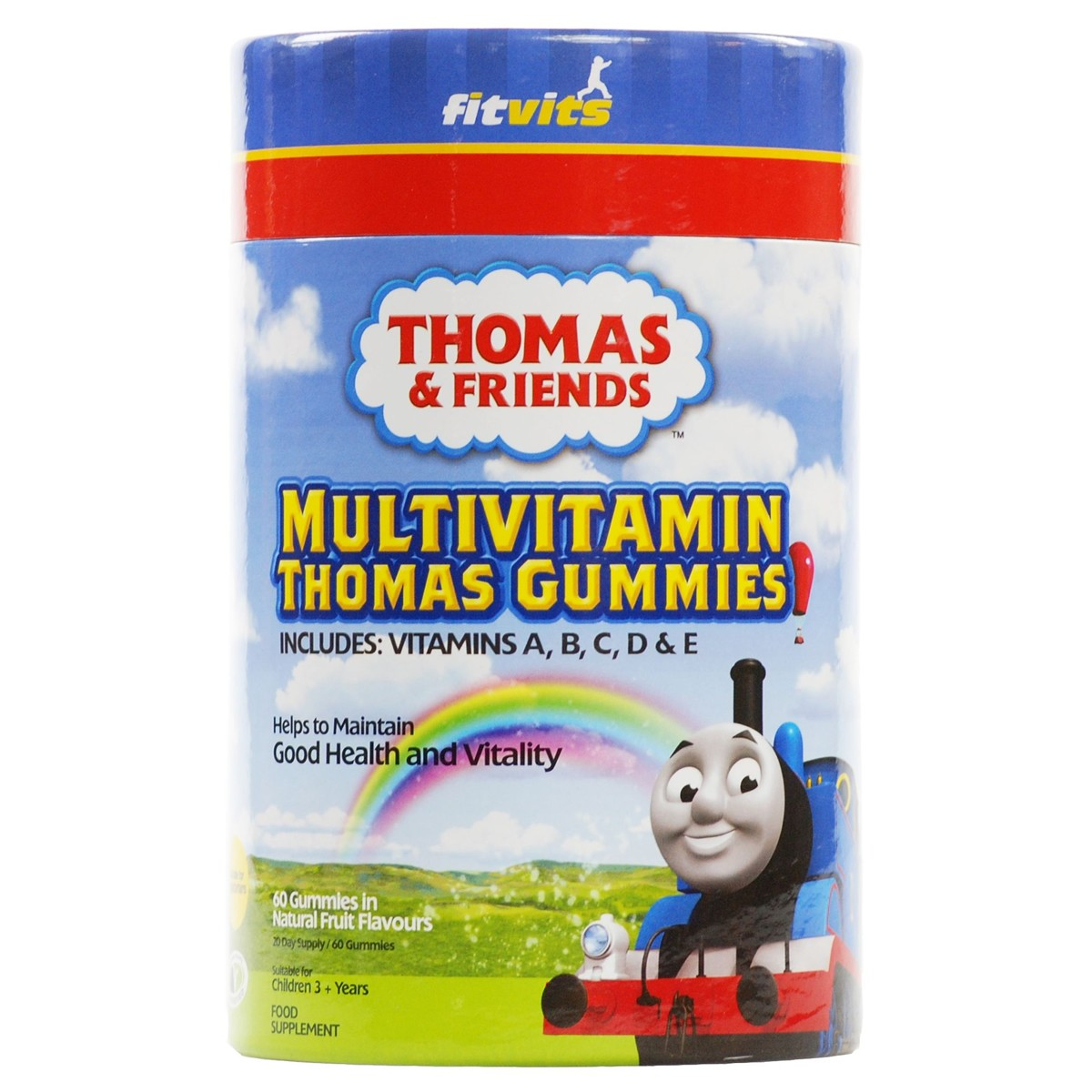 FitVits Thomas & Friends Multivitamin Thomas Gummies