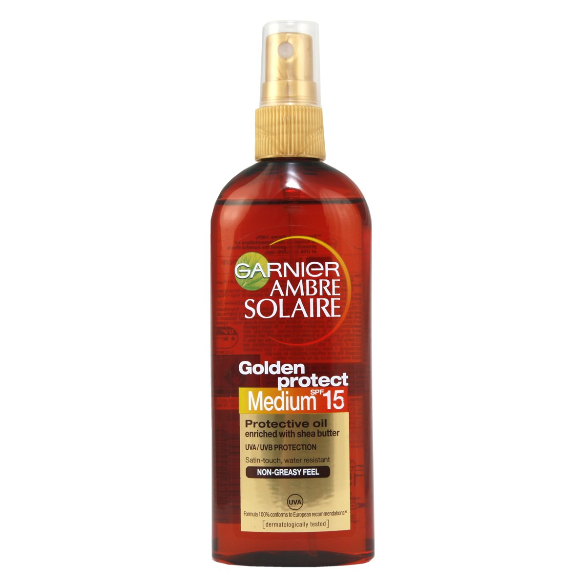 Garnier Ambre Solaire Golden Protect Oil SPF15 Spray