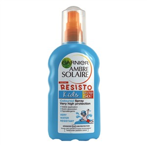 Garnier Ambre Solaire Resisto Kids Coloured Spray SPF50+