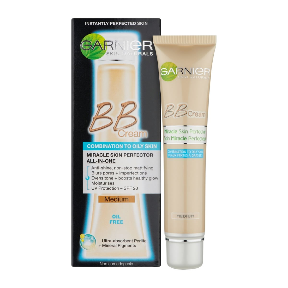 Garnier BB Cream Miracle Skin Perfector For Combination To Oily Skin - Medium