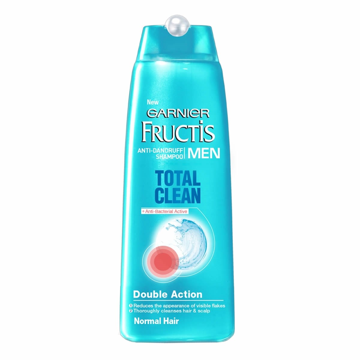 Garnier Fructis Men Total Clean & Anti Dandruff Shampoo