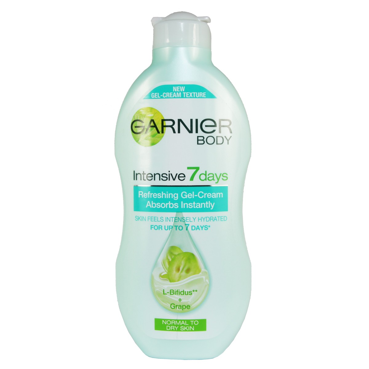 Garnier Intensives 7 Days Refreshing Gel-Cream with L-Bifidus & Grape (Normal to Dry skin)