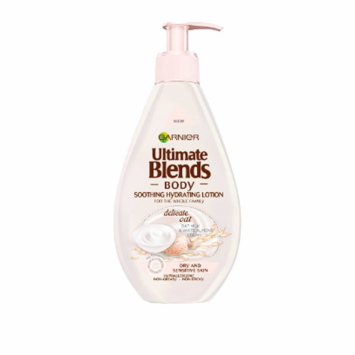Garnier Ultimate Blends Body  Delicate Oat Milk Soothing Hydrating Lotion