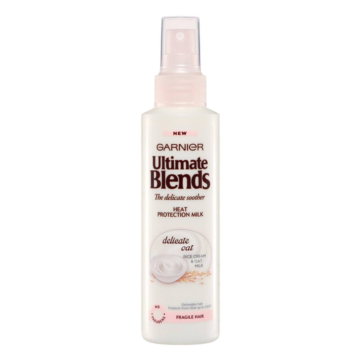 Garnier Ultimate Blends Delicate Soother Heat Protection Milk