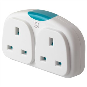 Go Travel Adaptor Duo (UK - Europe)
