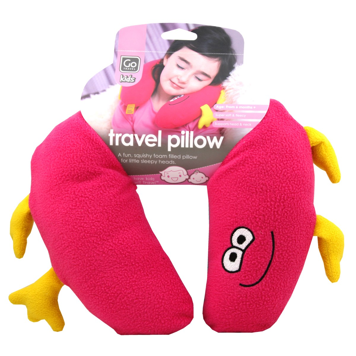 Go Travel Kids Travel Pillow