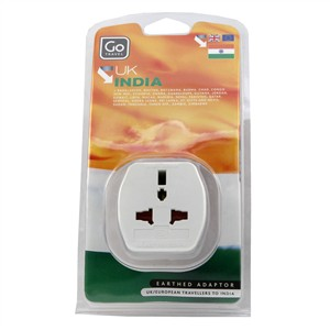 Image of Go Travel UK - India Adaptor