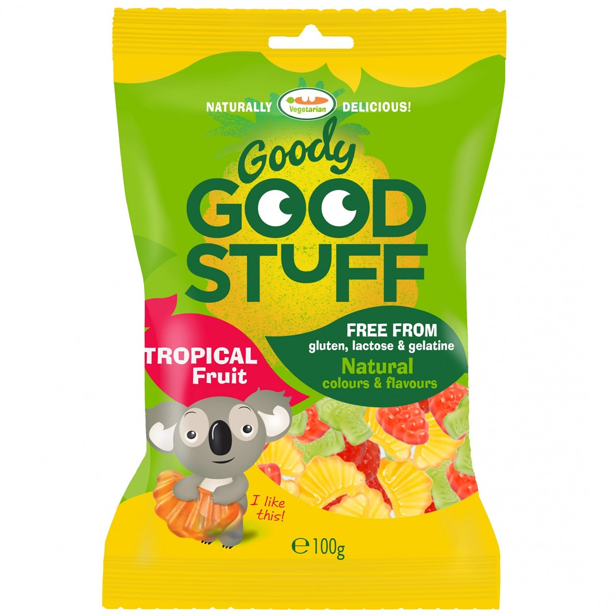 Goody Good Stuff Gummy Candy Tropical Fruit