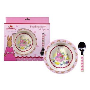 Great Gizmos Bunnykins Feeding Bowl & Spoon - Sweetheart