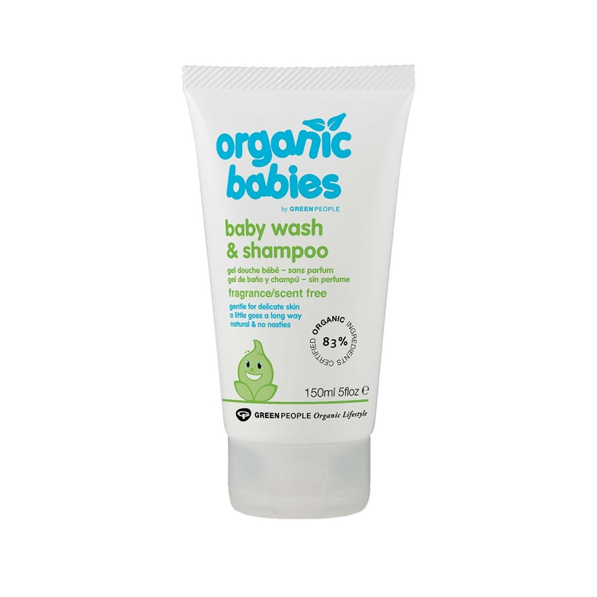 Green People Organic Babies Baby Wash & Shampoo Scent Free