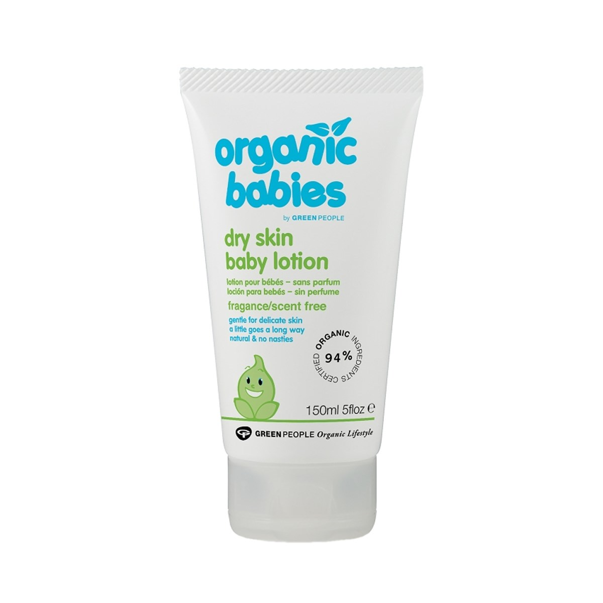 Green People Organic Babies Dry Skin Baby Lotion Scent Free