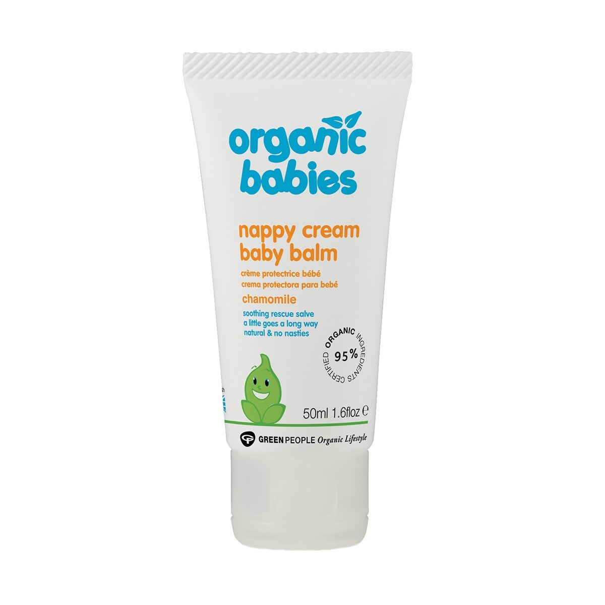 Green People Organic Babies Nappy Cream Baby Balm