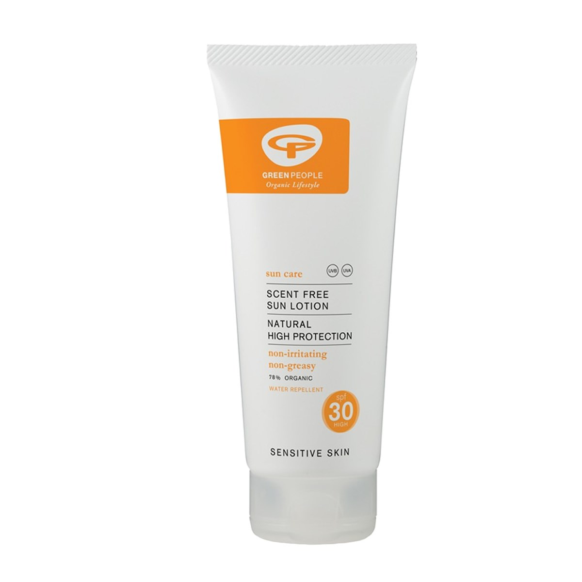 Green People Organic Scent Free Sun Lotion SPF30