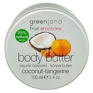 Greenland Fruit Emotions Body Butter - Coconut & Tangerine