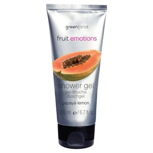 Greenland Fruit Emotions Shower Gel - Papaya & Lemon