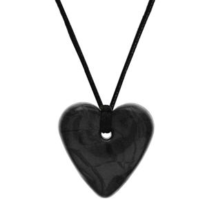 Gumigem Traditional Heart Necklace - Midnight Shimmer