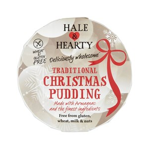 Hale & Hearty Gluten, Wheat & Dairy Free Christmas Pudding