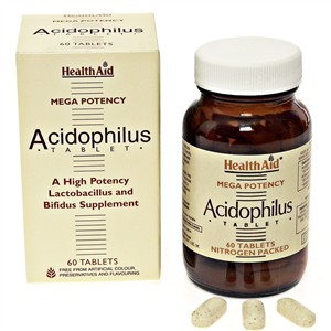 HealthAid Acidophilus (100 million) + FOS